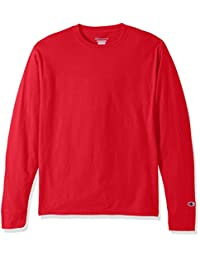 Champion LIFE 男式 棉质长袖T恤