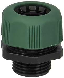 Orbit 1.59 cm 或 1.91 cm 男士端部花园和水软管修复搅拌器,塑料 - 56120 绿色 56120