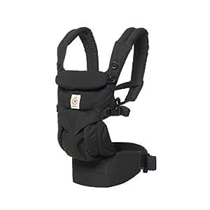 Ergobaby Omni全阶段四式360婴儿背带-黑色BCS360BLK
