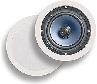 "Polk Audio RC80i 双向顶盖扬声器(一对,白色)AW0060-B|4 RC60i 6.5"""