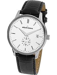 Jacques Lemans 雅克利曼 奥地利品牌 经典系列 石英男女适用手表 N-215A