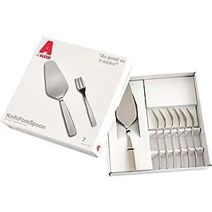 Alessi 刀叉勺 7 件套,灰色 灰色 AJM22S7