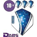 ABC Darts 中性款 - 成人 Pentathlon Wave 飞镖飞行,蓝色,经典