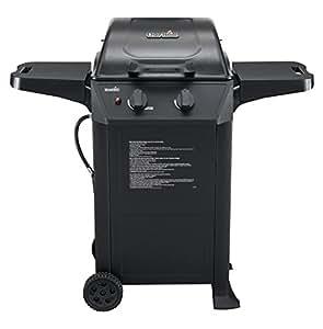 """Char-Broil 463621611 24,000-BTU 2-Burner T-Frame Gas Grill 黑色 20.15"""" L x 43"""" H x 45.47"""" W"""