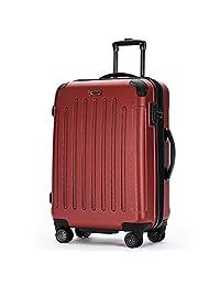 安途尔 商务静音拉杆箱 静音 20寸万向轮旅行箱 24寸行李箱登机箱 AT8025