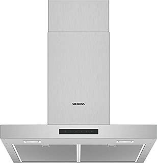 Siemens 西門子 LC66BBM50 抽油*機/墻罩 / 60 厘米 電子控制 / 金屬油脂過濾器 / 不銹鋼