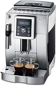 De'Longhi 德龍 ECAM 23.420.SW 全自動咖啡機(數字顯示屏 專業起泡噴嘴 圓錐研磨機13級 可拆卸沖泡組 2杯功能)銀