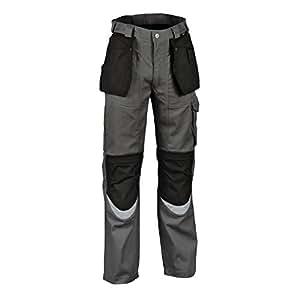Cofra V015-0-04.E46 长裤 Bricklayer 尺寸,*煤色/黑色,46