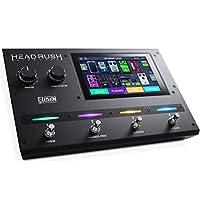 HeadRush Gigboard - 超便携式吉他FX 和 Amp 建模处理器,带 11 个 HD 扩展的 DSP 软件,7 英寸触摸屏,内置Looper,IR 支持和 USB 音频连接