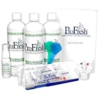 ProFresh BreathCare System 入门套件,6 周用具,二氧化氯漱口水。