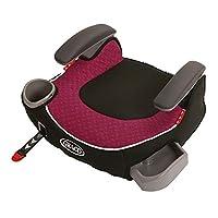 (跨境自营)(包税) GRACO 葛莱 汽车儿童安全座椅增高垫4-12岁 ISOFIX\LACTH 红色