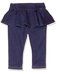TAKIHIYO 牛仔针织 裙裤 7分长 女孩 乐育