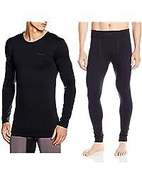 【过冬必备】Craft 绿标贴身层 舒适系列 运动内衣贴身层套装 适合中低强度运动 温度-5°C到10°C 跑步 滑雪 骑行 户外