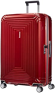 Samsonite 新秀丽 Neopulse 万向轮 L 行李箱,Metallic Red,L (75cm-94L)