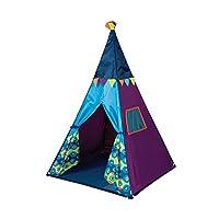 B.Toys 比乐 印第安帐篷 室内玩具屋 游戏屋 发光 炫彩灯光-大海蓝 婴幼儿童益智玩具 礼物 3岁+ BX1545Z
