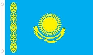 Allied Flag 户外尼龙 Kazakstan United Nation Flag 2 by 3-Feet 60-100-21109