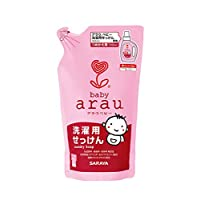 arau baby亲皙宝贝婴儿洗衣液 无添加自然派 替换装 720ml【日本原装进口】