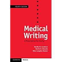 Medical Writing: A Prescription for Clarity (English Edition)