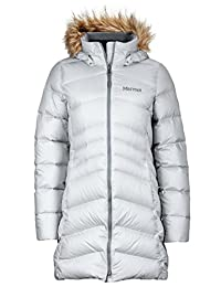 Marmot montreal 女式及膝羽绒棉衣填充 POWER 700