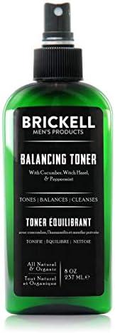 Brickell 男士平衡爽肤水 - 天然* 8盎司