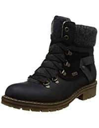 Rieker 女 雪地靴 Y9143(亚马逊进口直采, 德国品牌)