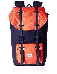 Herschel Supply Little America 大号 中性 经典系列 时尚双肩背包 10014 25 L(亚马逊进口直采,加拿大品牌)