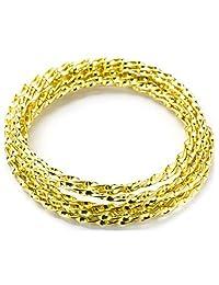 Cousin DIY 34771476 金色扭曲铝线