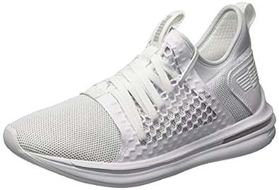 PUMA 彪马 男式 Ignite Limitless SR Netfit 运动鞋 Puma White-puma White 7 D(M) US