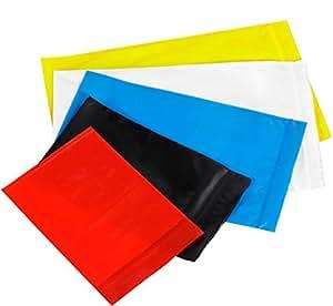 Bauxko 5.08 cm x 7.62 cm 可再布聚乙烯袋,白色,1000个装(xPB3525W-盒)