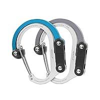 HEROCLIP 登山扣夹和挂钩(中号) | 适用于露营、背包和车库。
