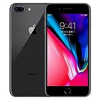 Apple iPhone 8 Plus 全网通4G智能手机 现货发售 国行正品 全国联保 (深空灰, 64G)