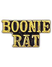 美国*越南战争Boonie 老鼠 2.54 厘米翻领别针