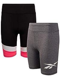 Reebok 锐步 女孩 运动自行车短裤(2 件装)
