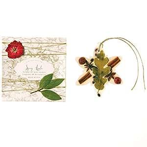 Rosy Rings 花瓣和螺纹雪花植物蜡香袋 Spicy Apple