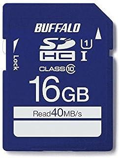 BUFFALO UHS-I Class10 SD卡 RSDC-U1S/N系列RSDC-016GU1S/N 16GB