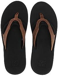 Reef Men's Leather Fanning Ii Flip Flop