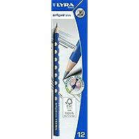 德国 LYRA 艺雅 12只装三角形洞洞HB书写铅笔 L1760100(新老包装随机发货)