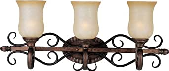 """Maxim 21133 3 Light 29"""" Wide Bathroom Fixture from the Sausalito Collection,"""