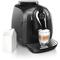 PHILIPS 飞利浦 Saeco 2000series 家用意式全自动浓缩咖啡机 HD86501/07 (尊享上门开机服务/欧洲整机进口 宝马工作室设计/陶瓷研磨器 更好保留咖啡风味/经典款蒸汽牛奶口设计)
