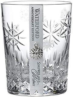 Waterford 2020 雪花愿望爱情周年版双层老式玻璃杯
