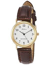 [Citizen Q&Q 西鐵城Q&Q] 手表 模擬手表 防水 皮帶 Q997-104 女士 白色