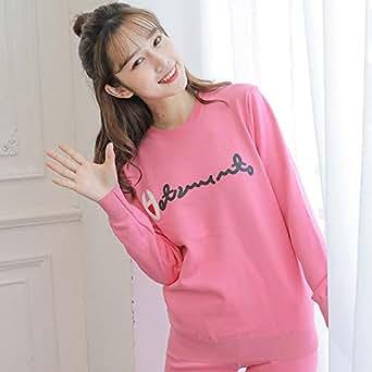 南极人保暖衣女加厚加绒套装冬可季学生外穿士上衣单件保暖内衣女898粉色 JM