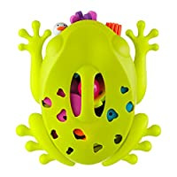 Boon Frog Pod Bath Toy Scoop, Green