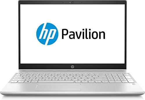 HP 4AX07EA#ABD 39.62厘米(15.6英寸)Pavilion 笔记本电脑(英特尔酷睿 i7-8550U,512GB 硬盘,16GB 内存,NVIDIA GeForce MX150,Win 10 家庭版)银色