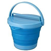 软桶 带盖 蓝色 -