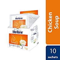 Meritene Energis Chicken Soup, 50g Sachets, Pack of 10