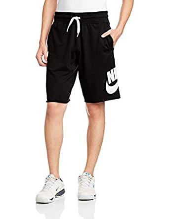 Nike 耐克 AS NIKE AW77 ALUMNI SHORT-LT W 男式 短裤 678573-013 黑色 170