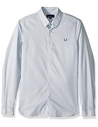 Fred Perry 男式条纹衬衫