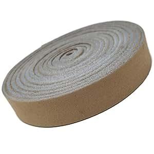 Tofl 皮带。 Crafts 皮条 您可以使用。 113.4 克。 0.16 厘米厚,1.27 厘米宽和 182.88 厘米长 米色 1/6 Beige leather strap by 72 inches