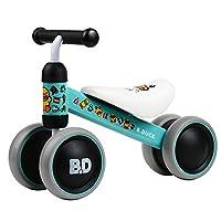 FERSOAR F 烽索 LUDDY系列1-2岁儿童滑行平衡车 三轮学步扭扭车1003-PI 绿色